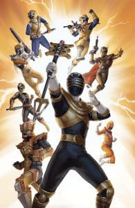 Mighty Morphin Power Rangers #34 Variant Cover