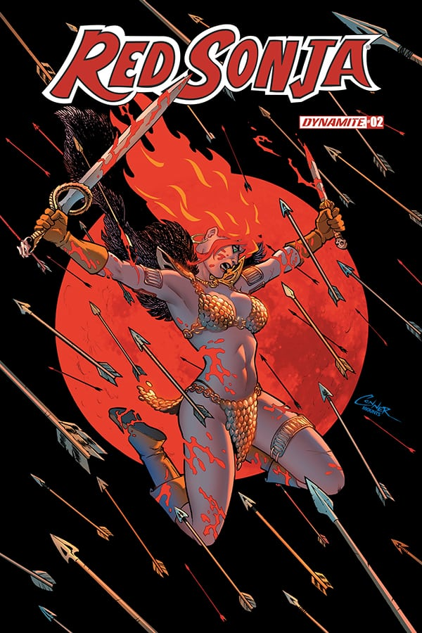 RED SONJA #2 - Cover A