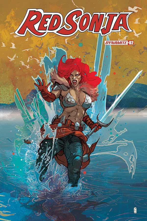 RED SONJA #2 – Cover C
