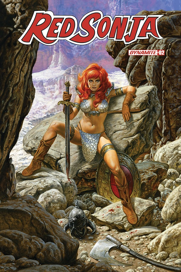 RED SONJA #2 – Cover D