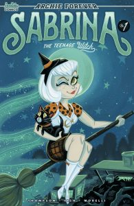 SABRINA THE TEENAGE WITCH #1 - Cover B