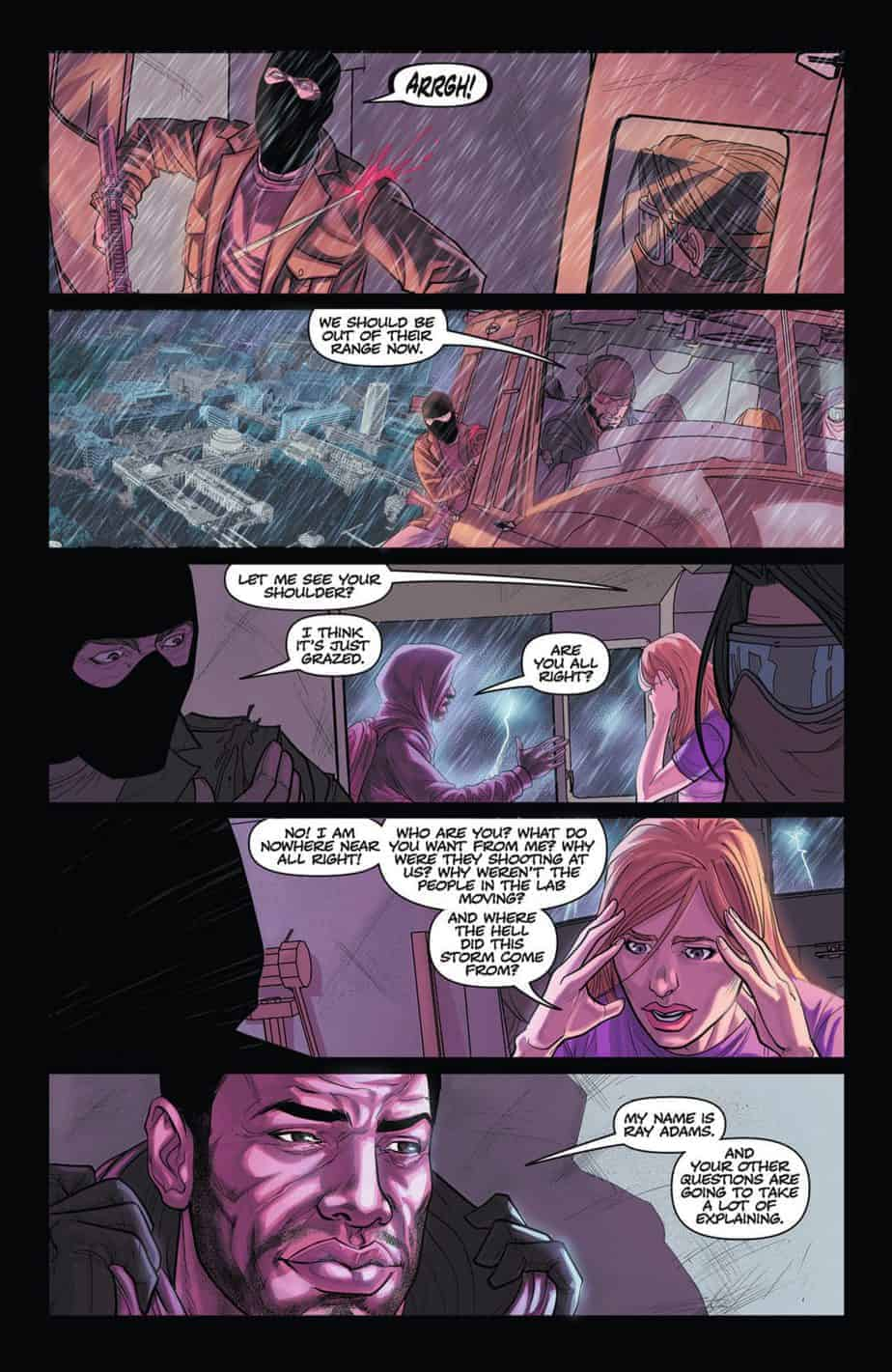 THE FREEZE #1 preview page 4