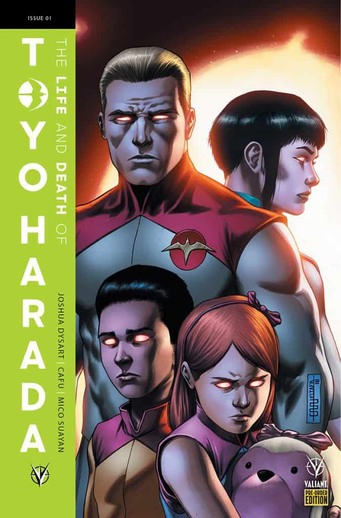 The Life and Death of Toyo Harada #1 - Pre-Order Variant