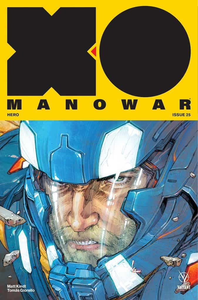 X-O Manowar #25 - Cover A