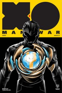 X-O Manowar #25 - Cover C