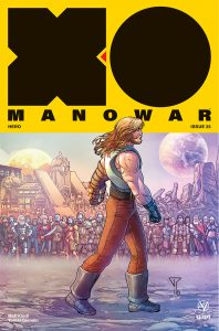 X-O Manowar #25 - Interlocking Variant