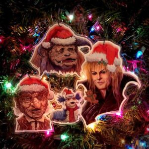 labyrinth ornaments