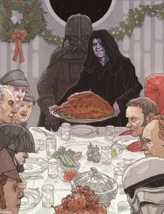 star wars christmas card