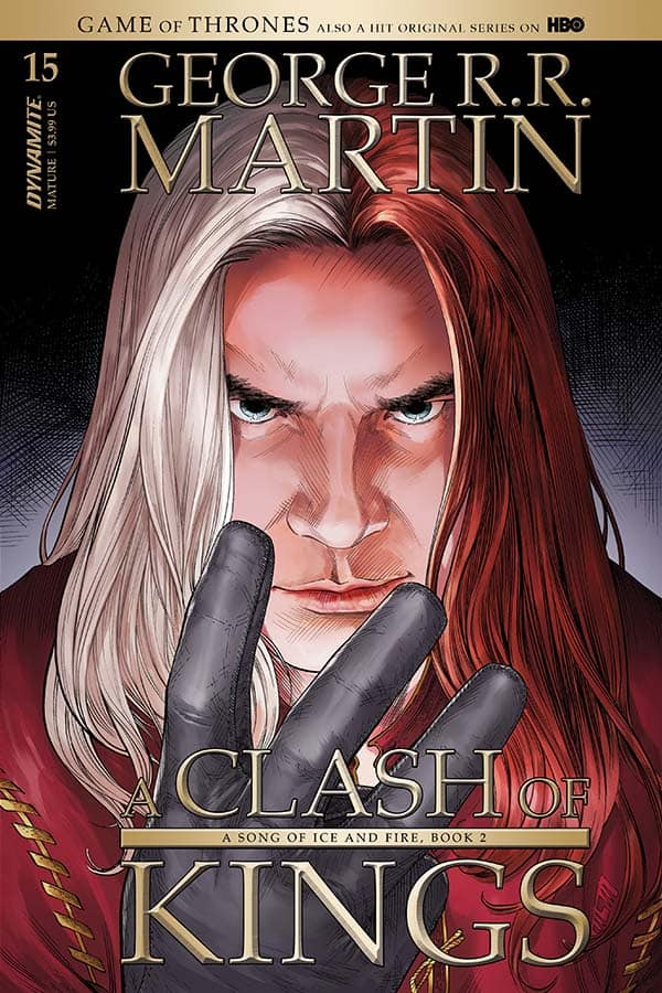 George R. R. Martin's A CLASH OF KINGS #15 - Cover A
