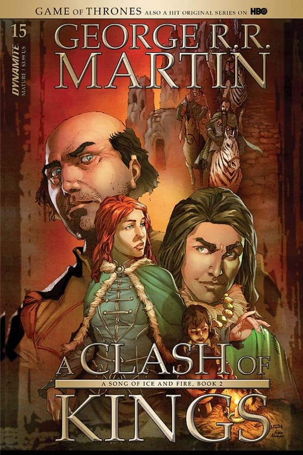 George R. R. Martin's A CLASH OF KINGS #15 - Cover B