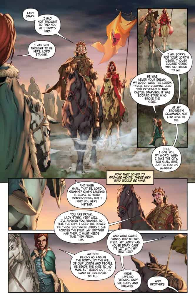 George R. R. Martin's A CLASH OF KINGS #15 - preview page 2
