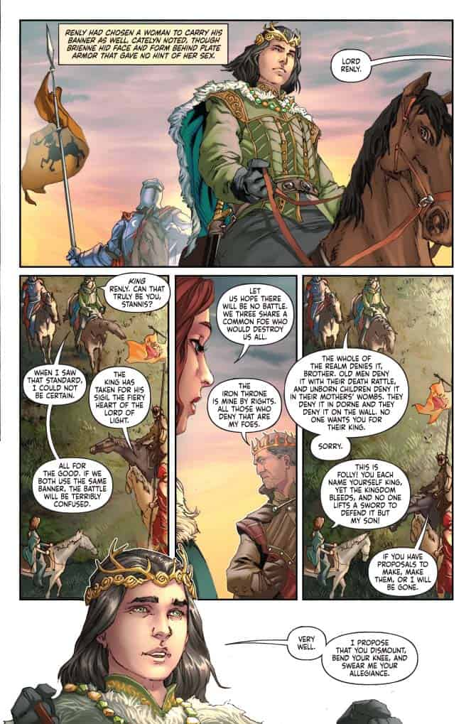 George R. R. Martin's A CLASH OF KINGS #15 - preview page 3