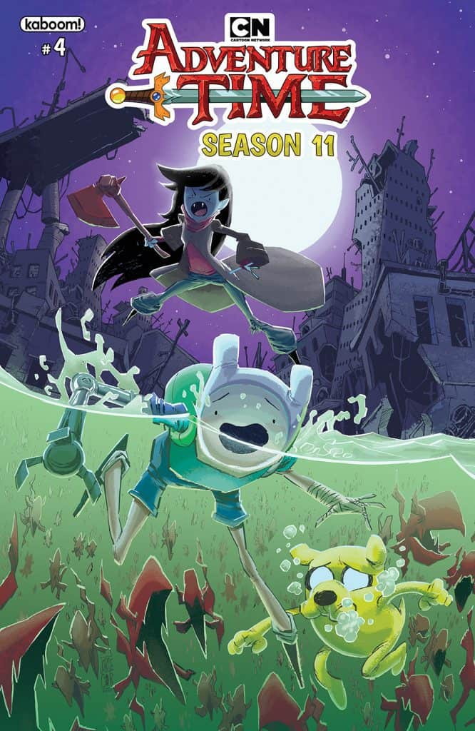 Adventure Time Season 11 #4 - Main Cover