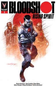 Bloodshot: Rising Spirit #3 - Cover B