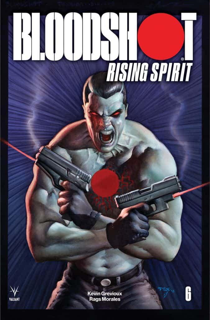 Bloodshot: Rising Spirit #6 - Cover B