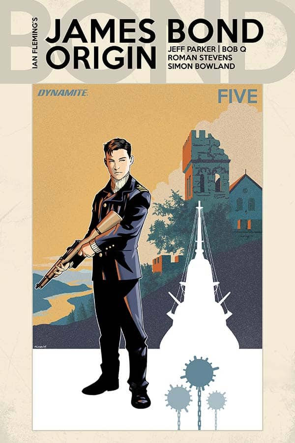 James Bond: Origin #5 – Cover B