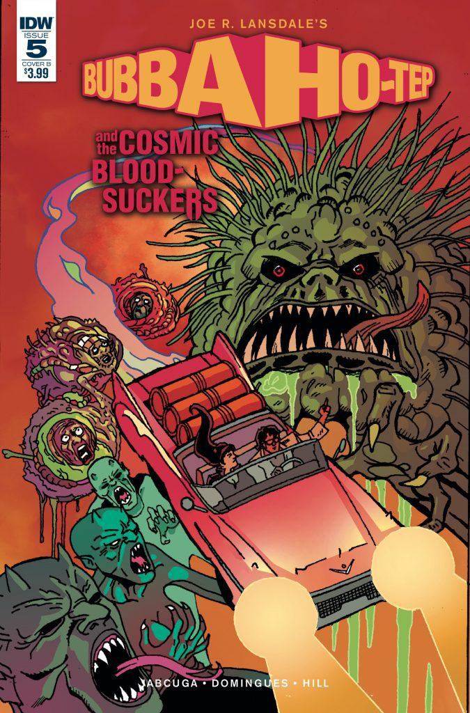 Bubba Ho-Tep and the Cosmic Blood-Suckers #5 - Cover B