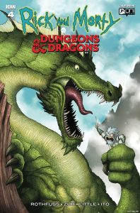Rick and Morty vs. Dungeons & Dragons #4 - 1:10 Retailer Incentive Variant