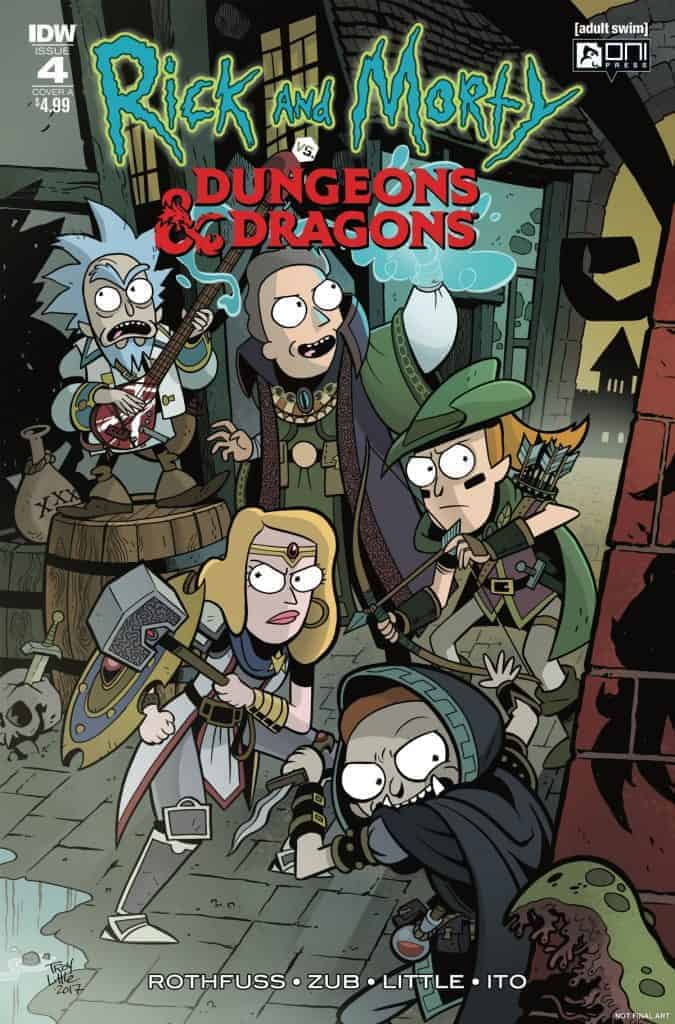 Rick and Morty vs. Dungeons & Dragons #4 - Cover A