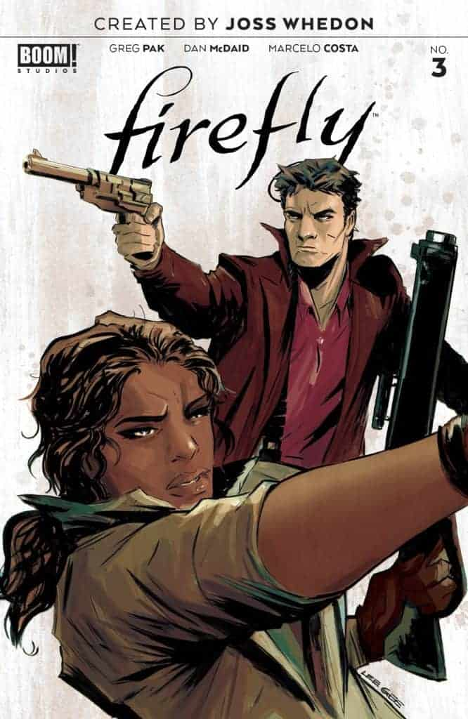Firefly #3 - Main Cover A