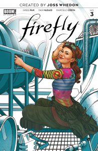 Firefly #3 - Preorder Cover B