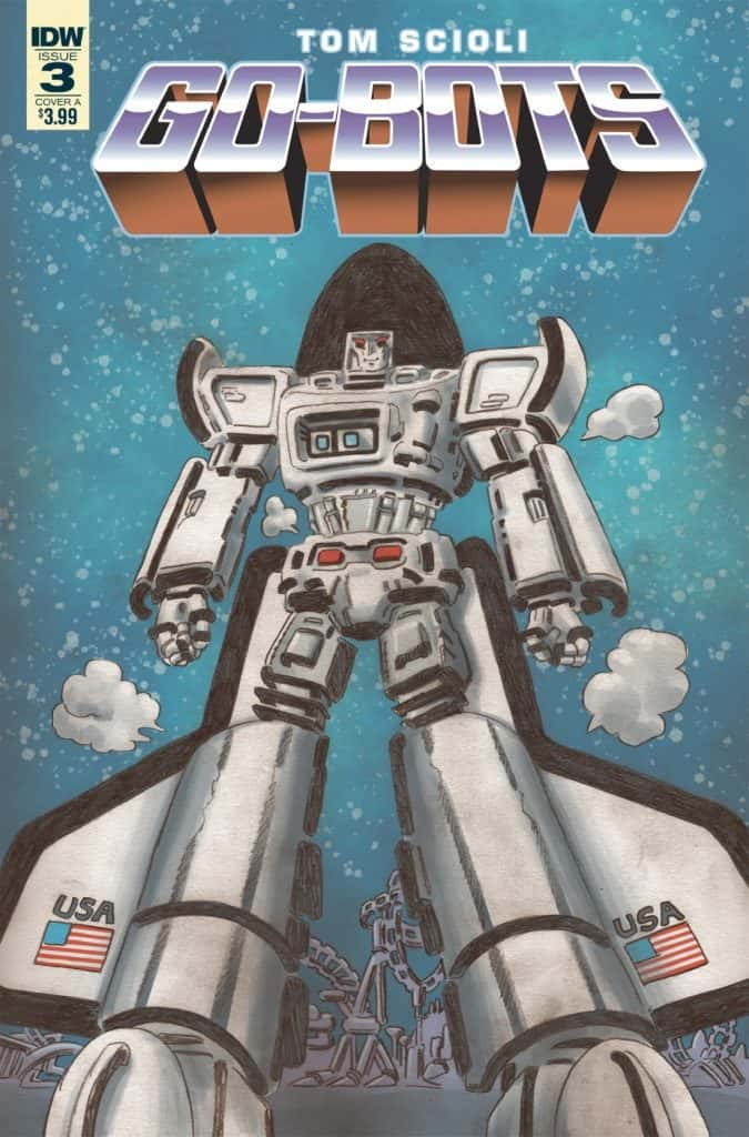 Go-Bots #3 - Cover A