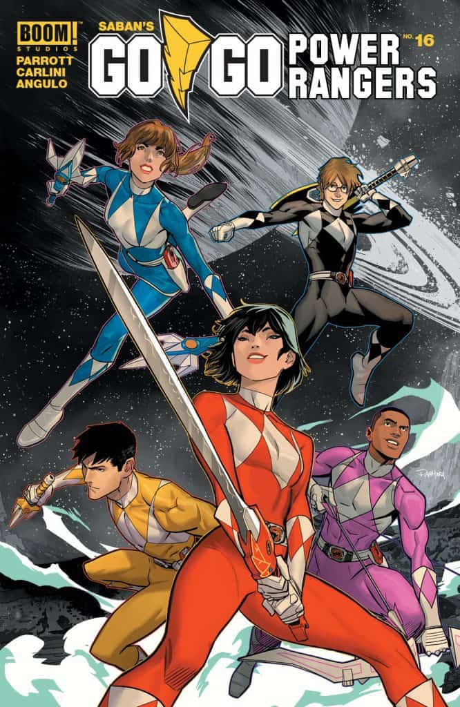 Saban's Go Go Power Rangers #16 - Main Cover