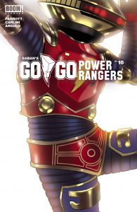Saban's Go Go Power Rangers #16 - Intermix Cover