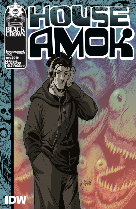 House Amok #4 - Cover A