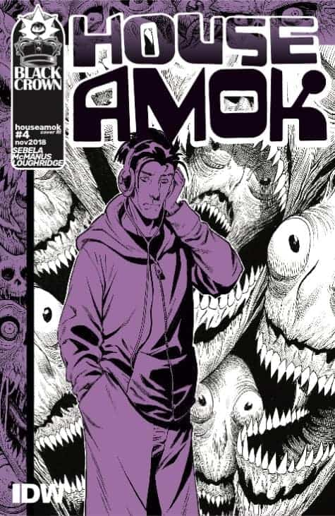 House Amok #4 - 1:10 Retailer Incentive