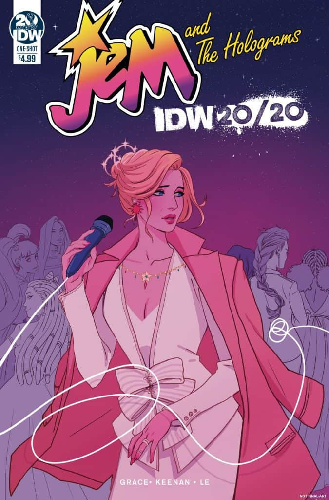 Jem and the Holograms IDW 2020 - Cover A
