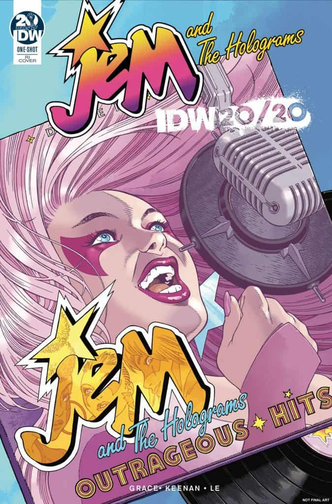Jem and the Holograms IDW 2020 - Retailer Incentive