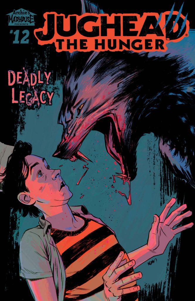 Jughead: The Hunger #12 - Main Cover by Adam Gorham