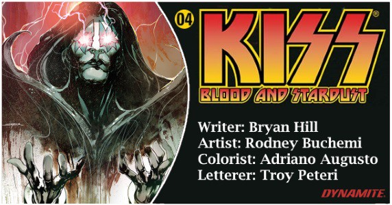 KISS Blood and Stardust #4 preview feature