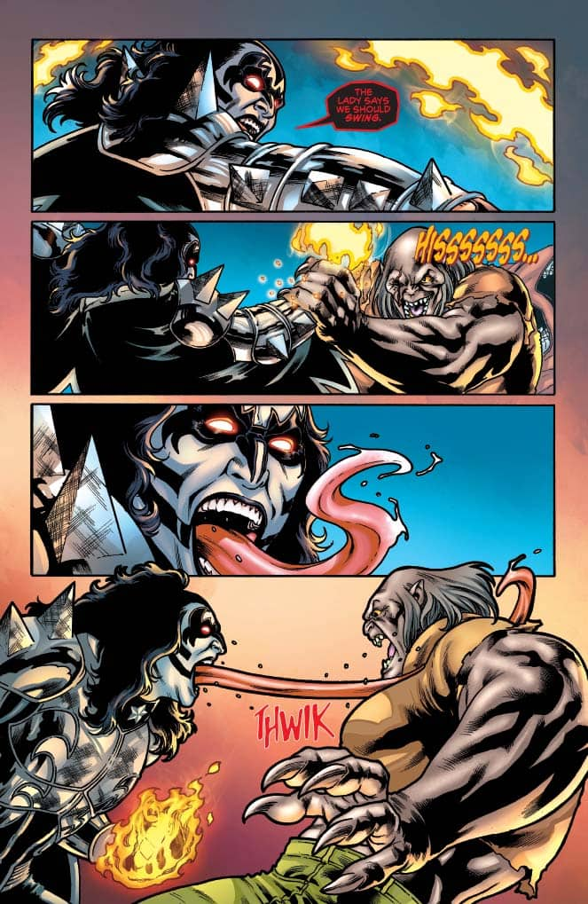 KISS: Blood and Stardust #4 - preview page 4