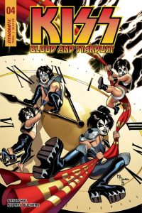 KISS: Blood and Stardust #4 - Cover C