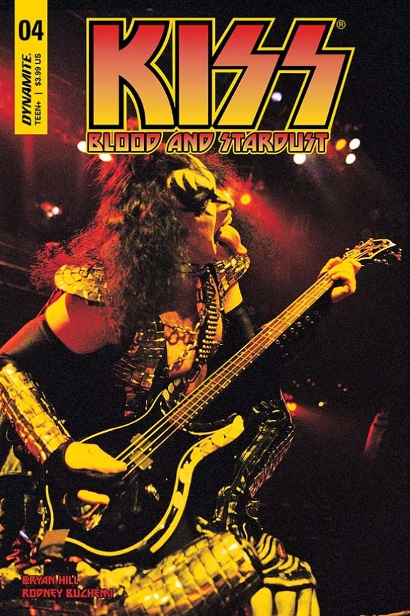KISS: Blood and Stardust #4 – Cover D