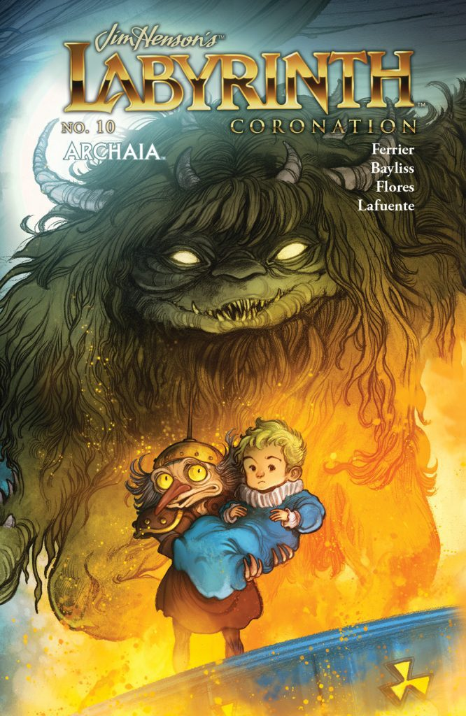 Jim Henson's Labyrinth: Coronation #10 - Preorder Cover