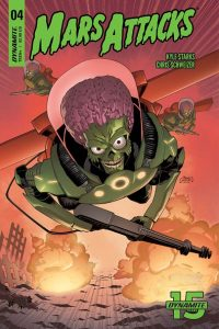 MARS ATTACKS #4 - Cover B