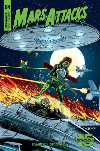 MARS ATTACKS #4 - Cover C