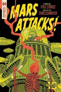 MARS ATTACKS #4 - Cover E