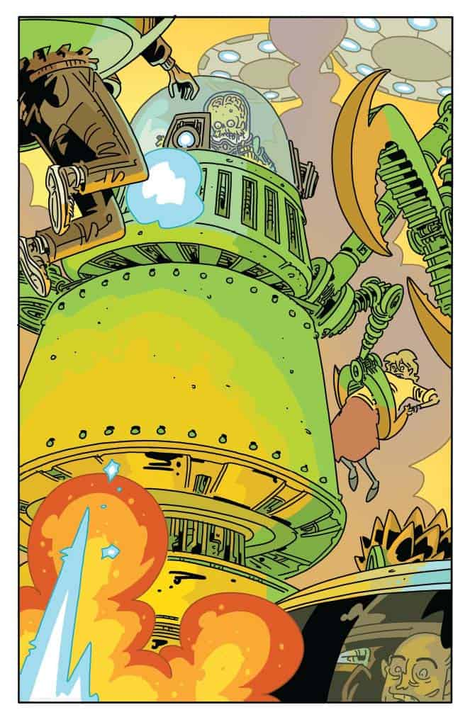 MARS ATTACKS #4 - preview page 1