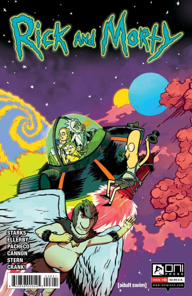 Rick and Morty™ #46 - Cover B