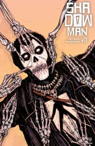 Shadowman #11 - Cover C by John Bivens