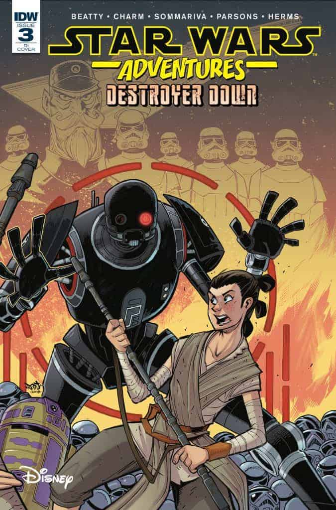 Star Wars Adventures: Destroyer Down #3 - Retailer Incentive