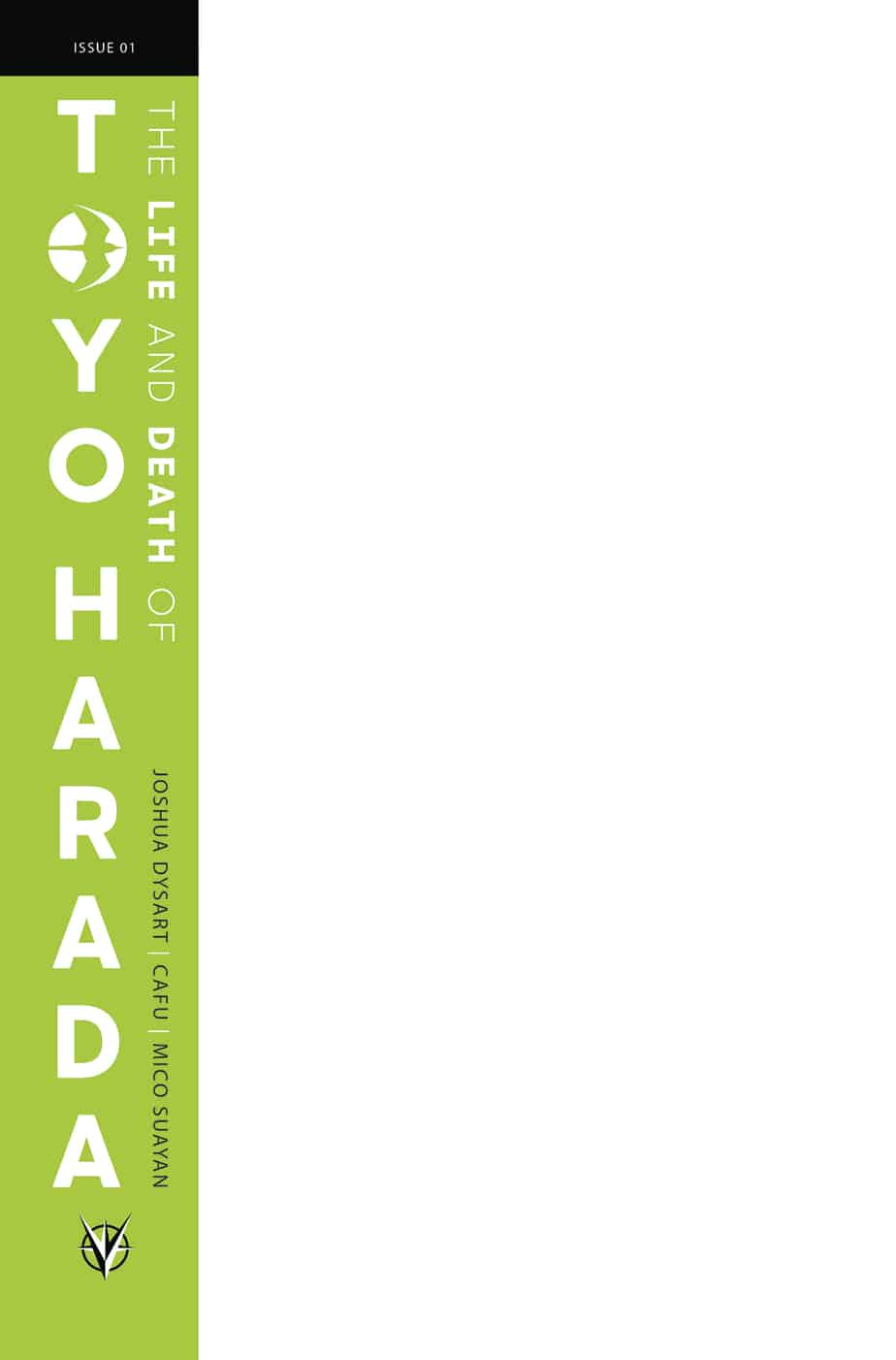 THE LIFE AND DEATH OF TOYO HARADA #1 (of 6) – Blank Cover