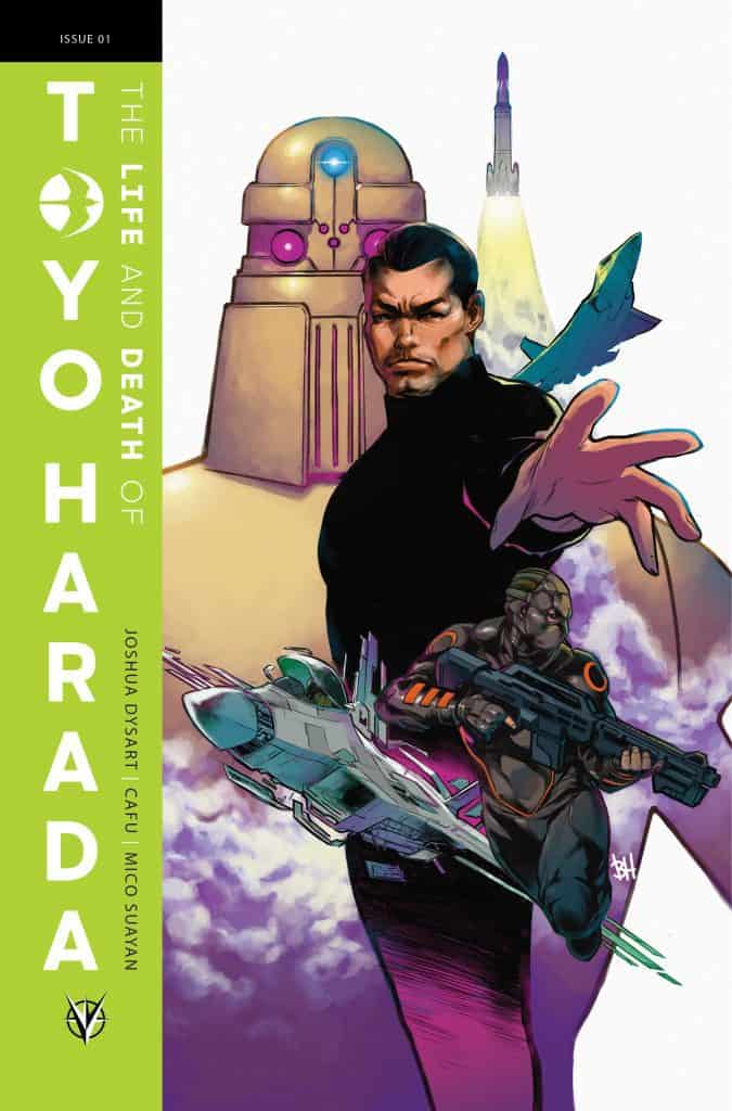 THE LIFE AND DEATH OF TOYO HARADA #1 (of 6) – Cover B by Ben Harvey