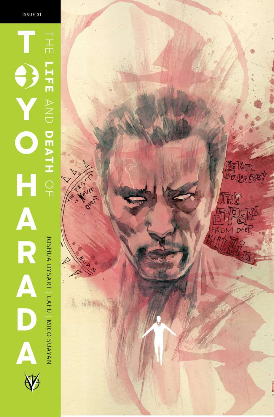 THE LIFE AND DEATH OF TOYO HARADA #1 (of 6) – Cover C by David Mack