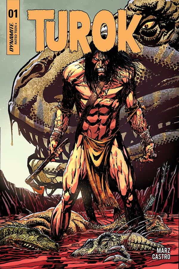 TUROK #1 - Cover A by Bart Sears
