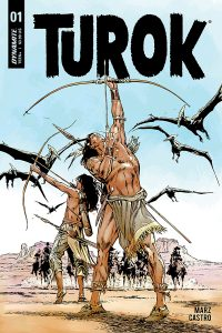 TUROK #1 - Cover B by Butch Guice